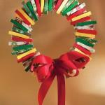 Manualidades navideñas para hacer con pinzas de la ropa