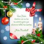 Tarjetas con frases para compartir en la Navidad