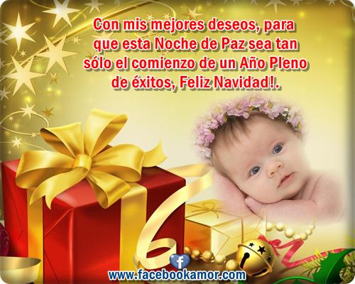 Tarjetas de fel z navidad con beb s para compartir hoy - Postales de navidad con fotos de ninos ...