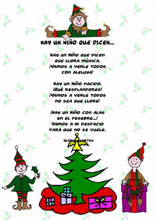 Poemas para la navidad en im genes hoy im genes - Postales de navidad faciles para ninos ...