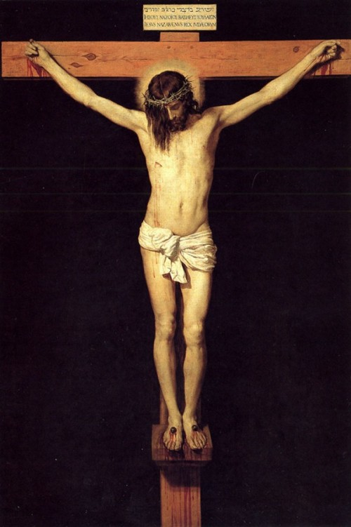 las_10_mejores_pinturas_de_jesus_de_la_historia_8Cristo Crucificado fue pintado en 1632 por Diego Velazquez.