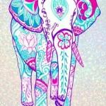 Elefantes hindúes coloridos en imágenes para descargar hoy