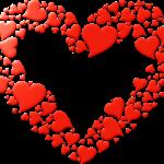 Descargar corazones para regalar en San Valentin, el 14 de febrero