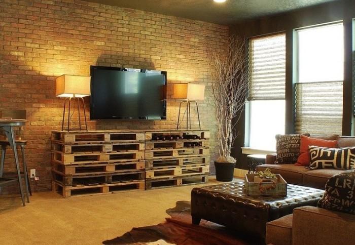 Dise os en im genes para hacer una casa con palets - Disenos con palets ...