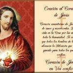 Imágenes con frases religiosas del Sagrado Corazón de Jesús para descargar
