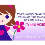 Imágenes lindas con bonitas palabras para dedicarle tu cariño a tu mamá