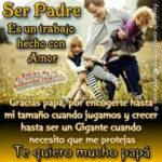 Imágenes lindas con bonitos mensajes para celebrar el día del padre