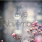 Mensajes e imágenes con carteles de Chau Noviembre , Hola Diciembre