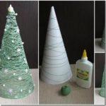 45 Árboles reciclados Navideños: Diseños diferentes