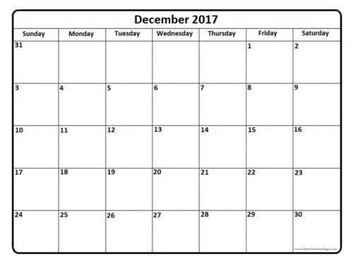 December-2017-blank-calendar