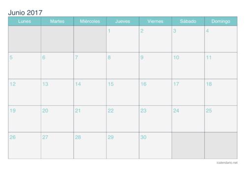 calendario-junio-2017-turquesa