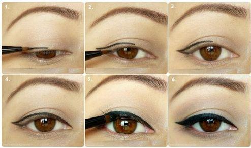 maquillaje de ojos con imgenes y tutoriales paso a paso hoy imgenes