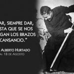 Imágenes de San Alberto Hurtado para compartir