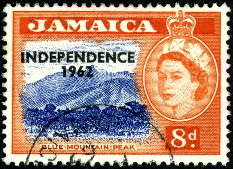 jamaica independence stamp