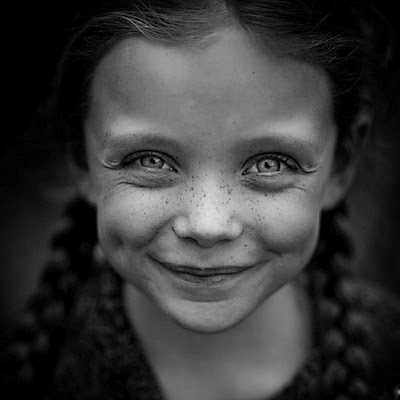 niñosbl y negrSonrisa, niños, blanco y negro