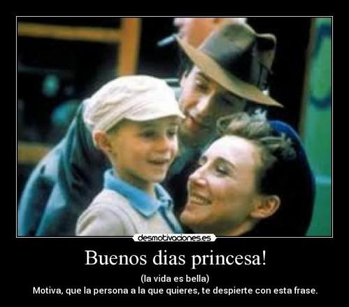 princesa la vida es bella