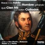 Imágenes con frases famosas del Gral. José de San Martín