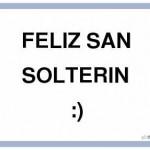 Imágenes del 13 de febrero para compartir – Día de San Solterín