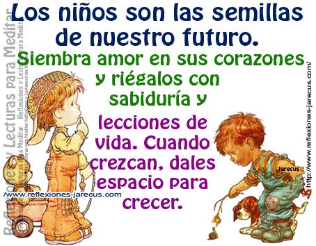 Imágenes De Niños Y Carteles Con Frases Sobre Los Niños Para