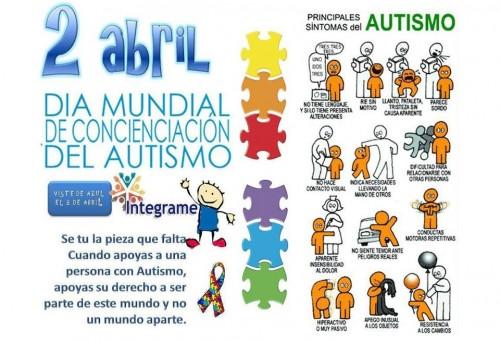 Día Mundial Del Autismo En Imágenes Para Whatsapp Dibujos Para Compartir En Redes Sociales Sobre El Autismo