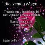 Imágenes de Bienvenido Mayo para compartir en el Facebook