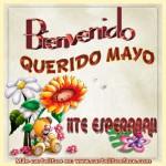 Imágenes para compartir de Bienvenido mes de Mayo