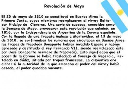 Imágenes Infantiles Del 25 De Mayo De 1810 Para Descargar Y Publicar
