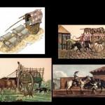 Diferentes imágenes de la vida cotidiana de la época colonial de 1810 para descargar y compartir gratis