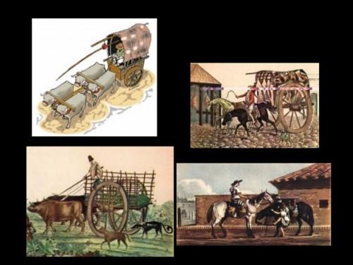 Diferentes im genes de la vida cotidiana de la poca for Casas de la epoca actual