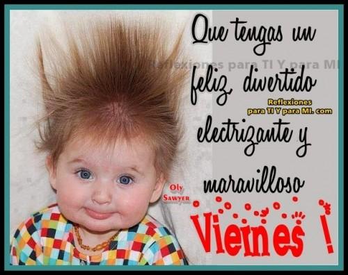 Imágenes de Buenos Días y felíz viernes para compartir