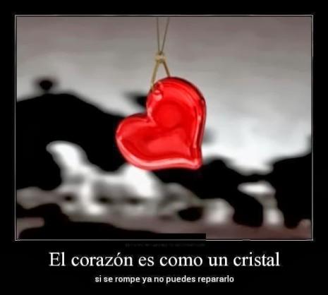 imagen de corazones con frase de desamor (10)