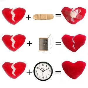 imagen de corazones con frase de desamor (13)