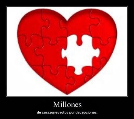 imagen de corazones con frase de desamor (14)