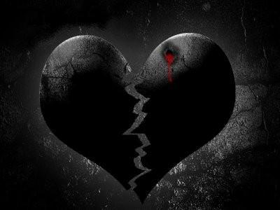 imagen de corazones con frase de desamor (5)