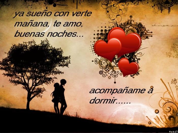 mensajes con frases de Buenas noches Romanticas para Enamorados (67)
