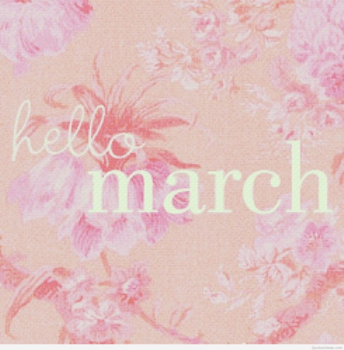 Awesome-hello-March-card
