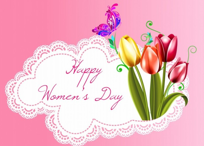 Happy-Womens-Day-Pink-Card