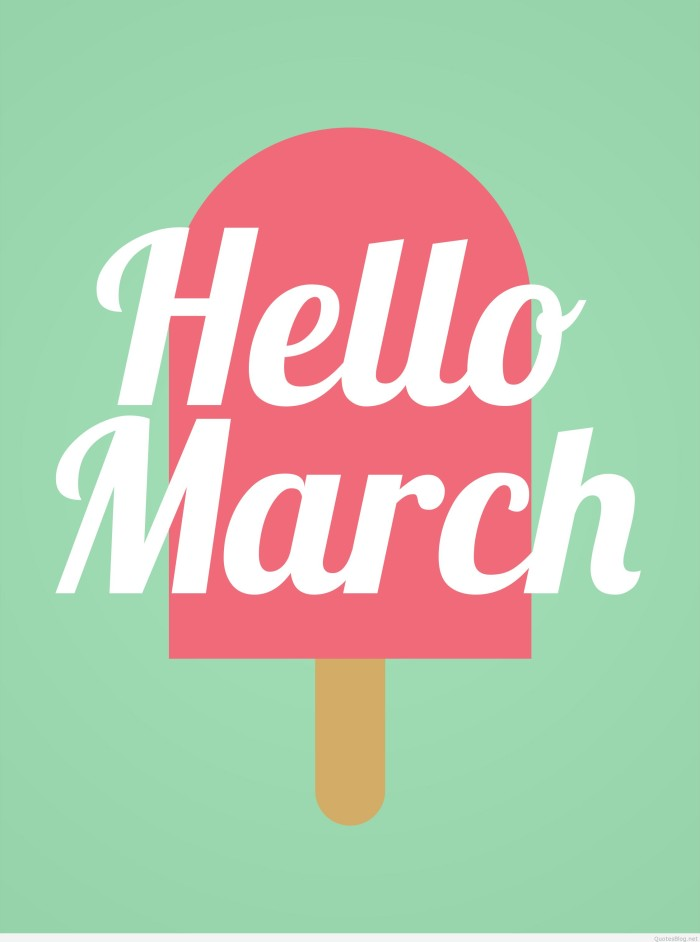 hello-march-wallpaper