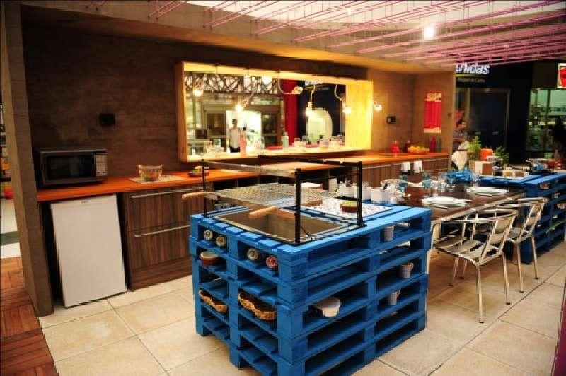 Los 22 mejores muebles para la cocina hechos con palets