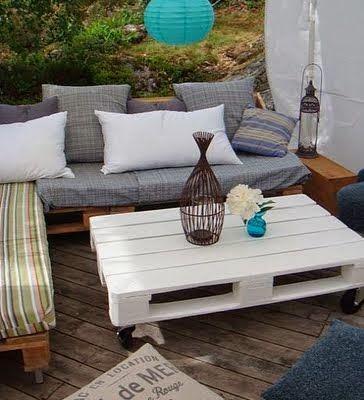 Muebles para terraza con palets (6)