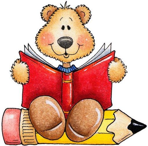 Teddy Bear Reading01