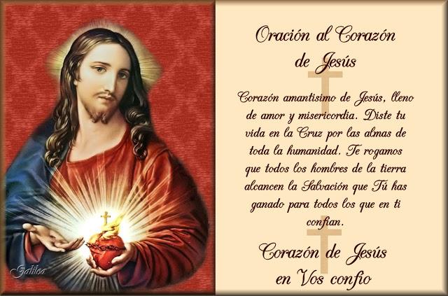 Imágenes Con Frases Religiosas Del Sagrado Corazón De Jesús Para