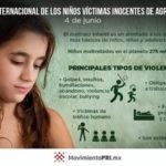 Imágenes alusivas para conmemorar el 4 de junio: Día Internacional de los Niños Víctimas Inocentes de Agresión