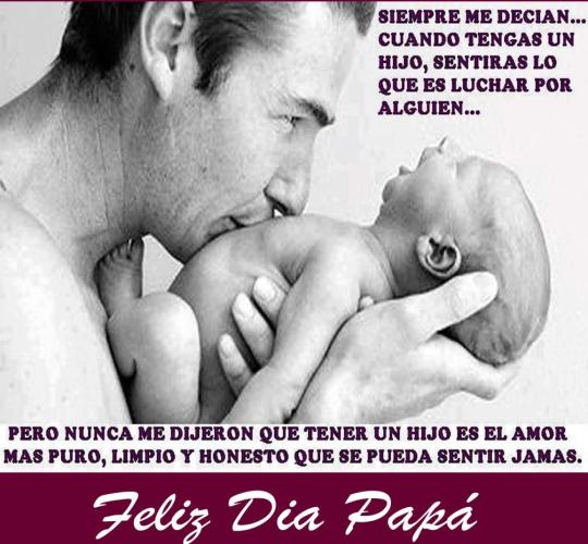 30 Imágenes Con Frases Lindas De Felíz Día Del Padre Para