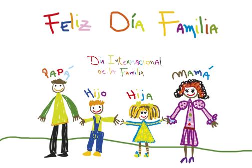 Imágenes-Dia-de-la-Familia-con-dibujos-bonitos-3