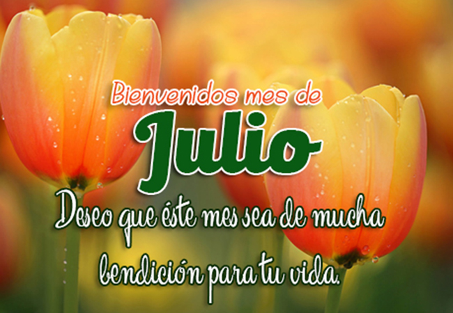BienvenidoJulio25