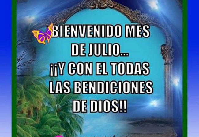 BienvenidoJulio6