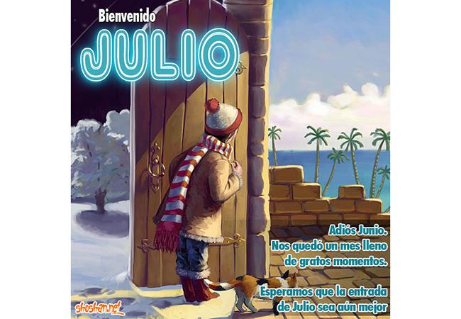 BienvenidoJulio9