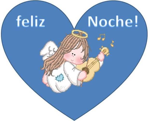 angel feliz noche