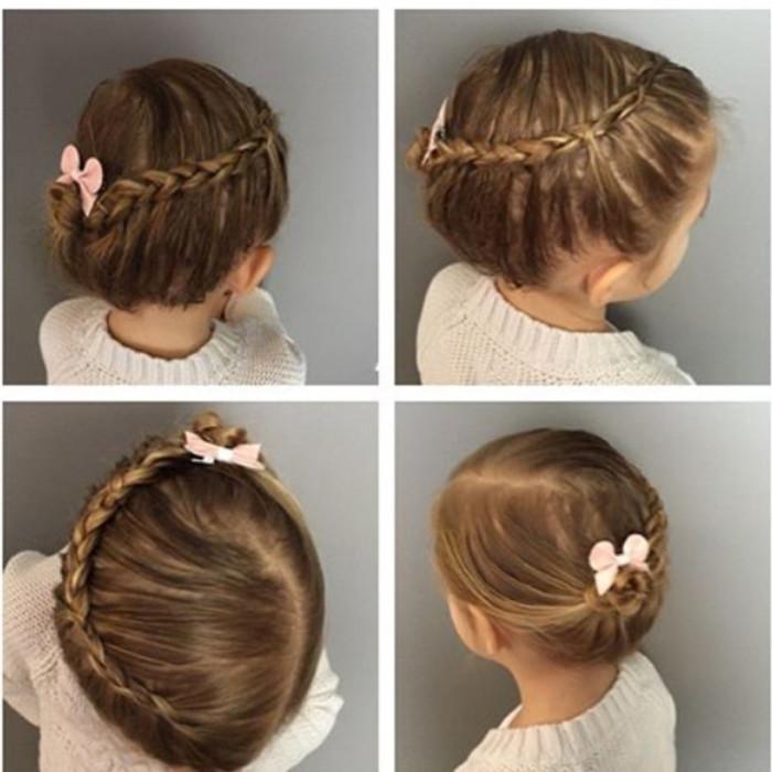 peinados para ni as con recogidos y trenzas sencillas On recogidos para ninas